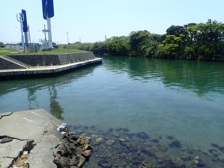 村櫛 釣り場