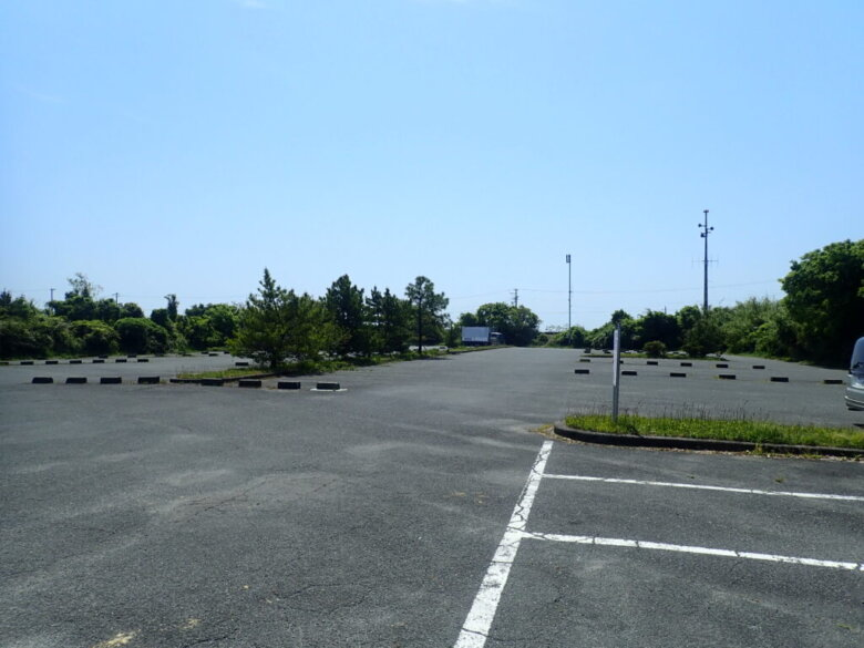 村櫛海水浴場 駐車場