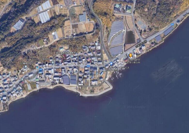 庄内湖 平松 釣り場