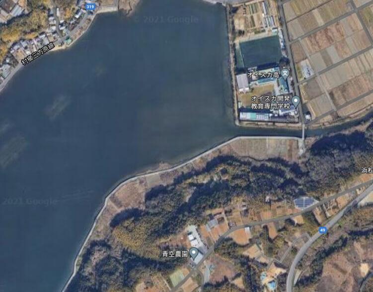 庄内湖 花川 オイスカ高校 釣り場