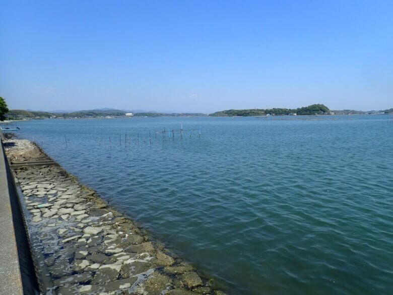 白洲 釣り場