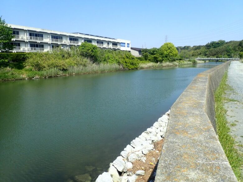 花川河口 釣り場