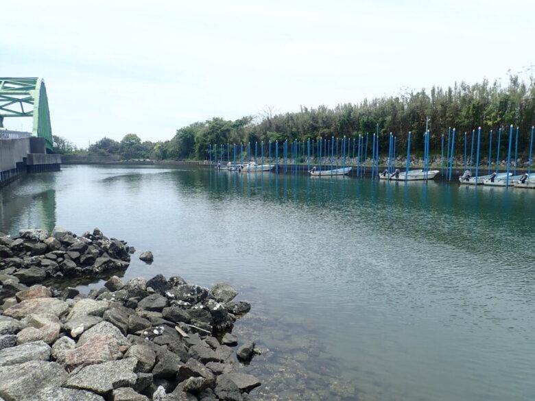 山崎ワンド 運河