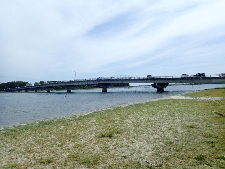 中之島 浜名湖大橋 釣り場