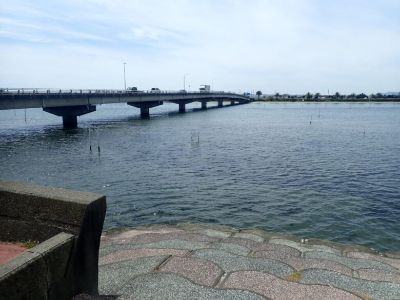 雄踏大橋 北側 釣り場