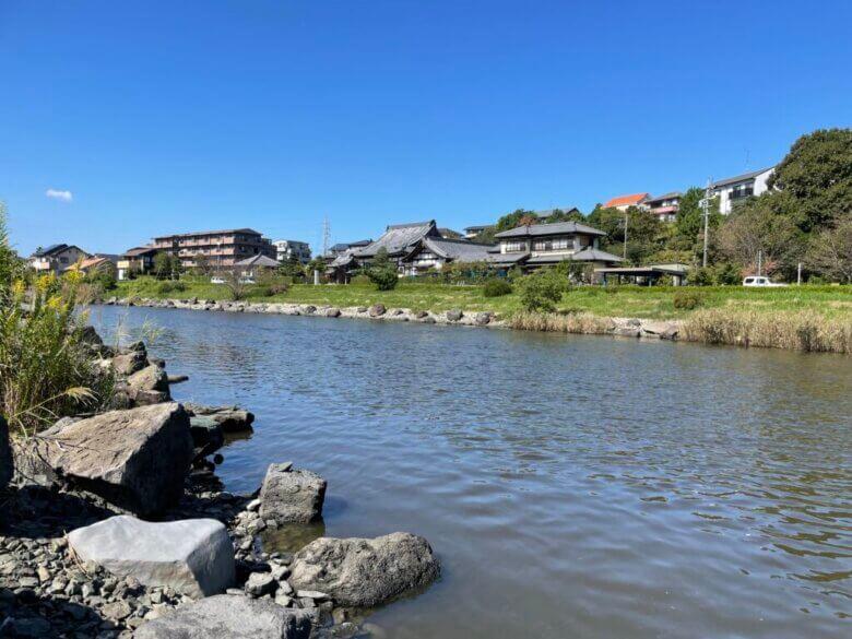 漕艇場 釣り場 新川
