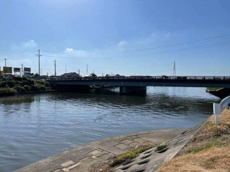 釣り場 新川