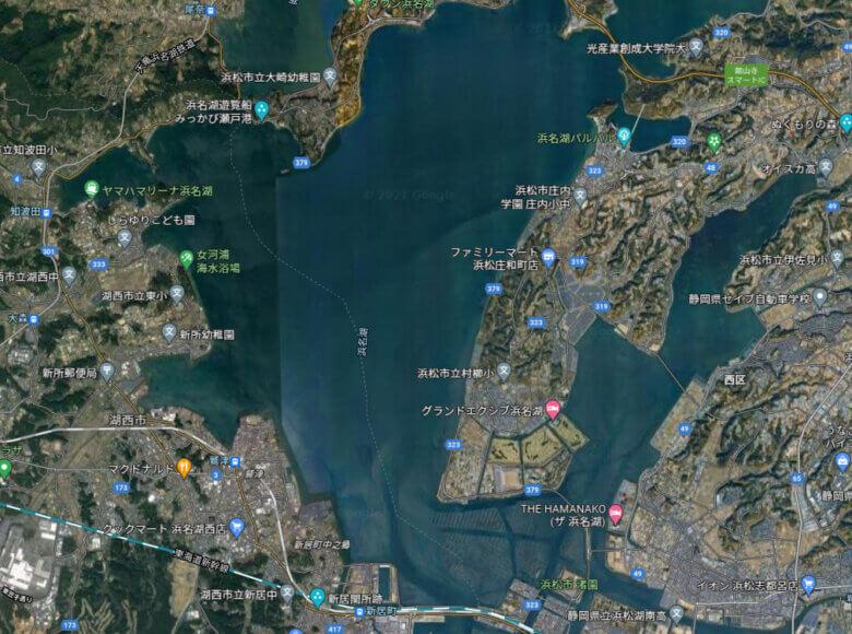 中浜名湖 ポイント 釣り場