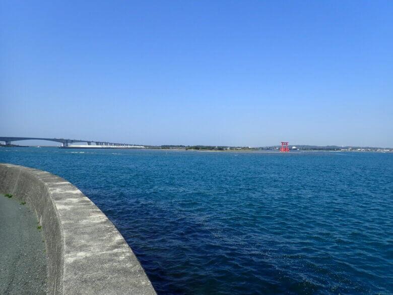 舞阪漁港 北側 釣り場
