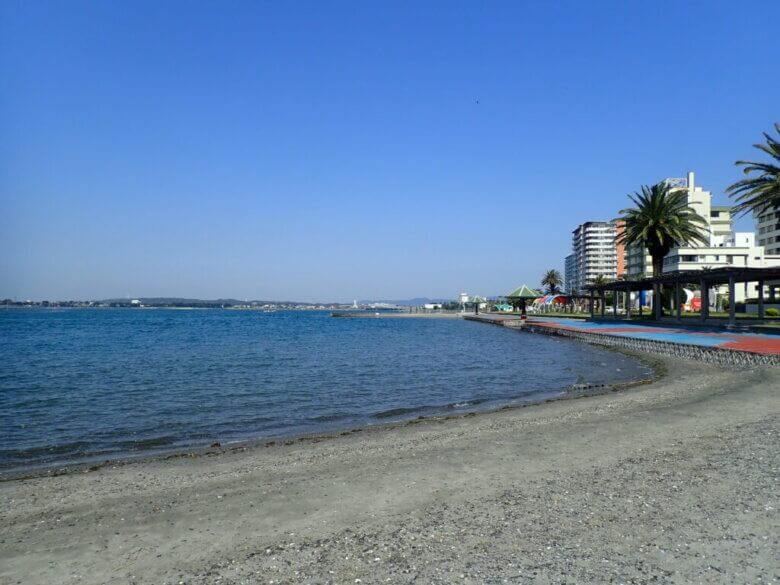 弁天島海浜公園 釣り場