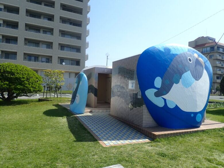 弁天島海浜公園 トイレ