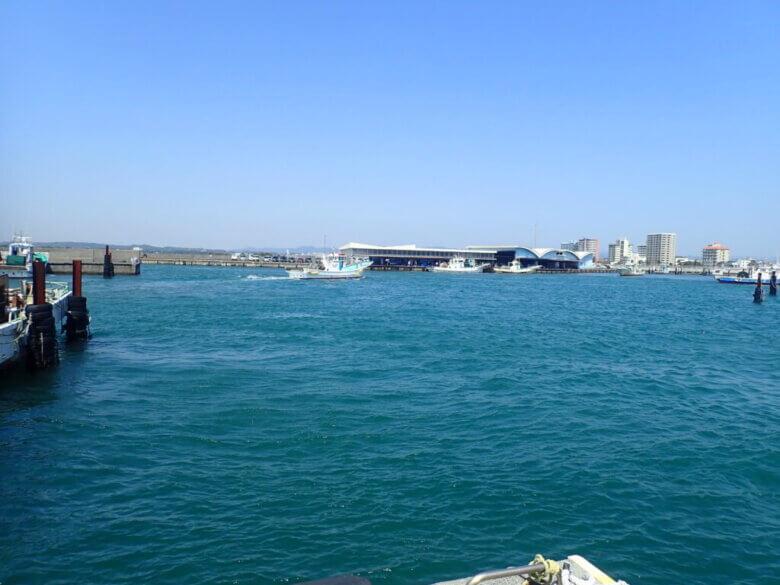 舞阪漁港 港湾施設 釣り禁止