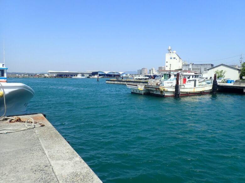 舞阪漁港 釣り場