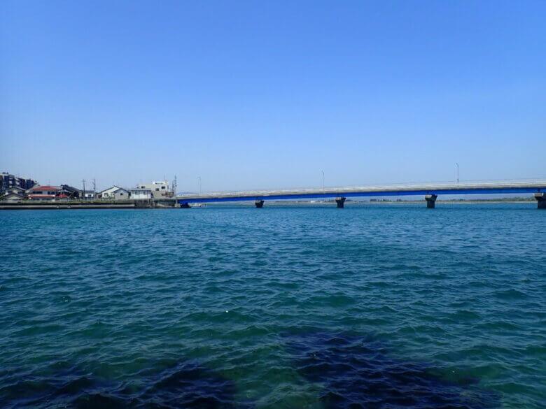 小島 2番ミオ 釣り場