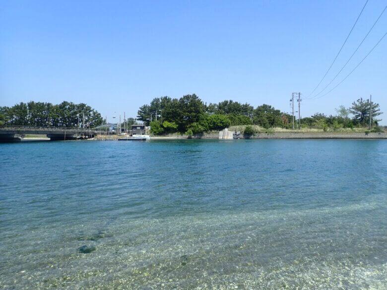 渚園 渚川 釣り場