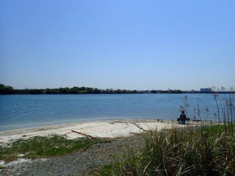 渚園 一番ミオ 釣り場