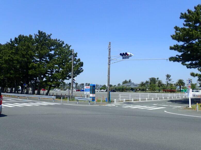 渚園 釣り 駐車場