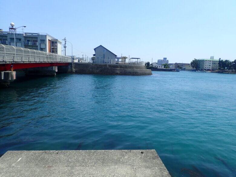 2番ミオ 小島 釣り場