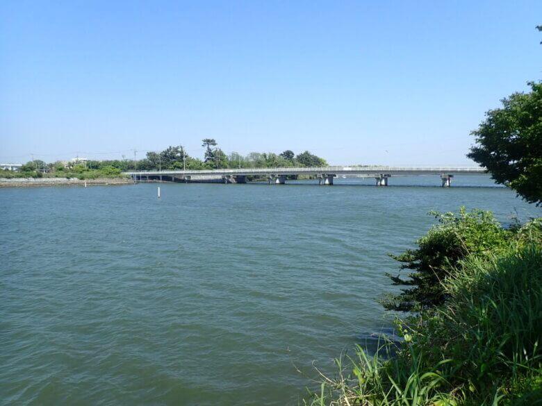 新川 釣り場