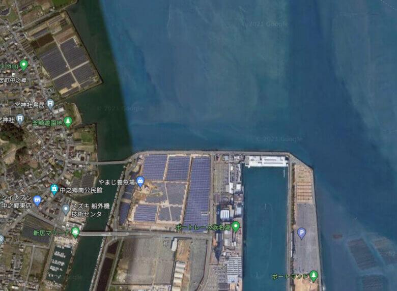 浜名湖 競艇場 大正川 ポイント 釣り